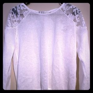 LC Lauren Conrad Runway Pearl Sweater